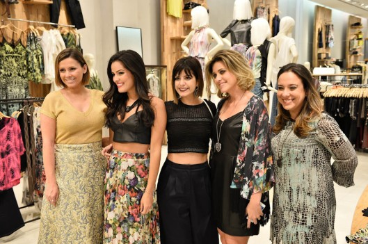 Monica Salgado, Mariah, Bruna Fioreti, Monique Majtlis e Tatiana Arrais