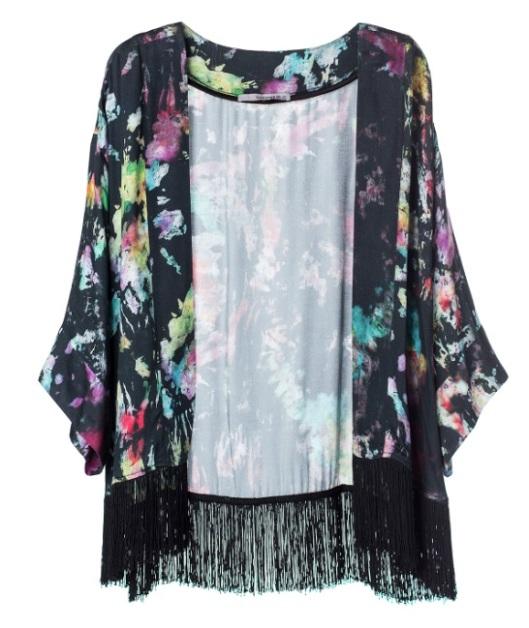 Kimono Franja R$ 398,00