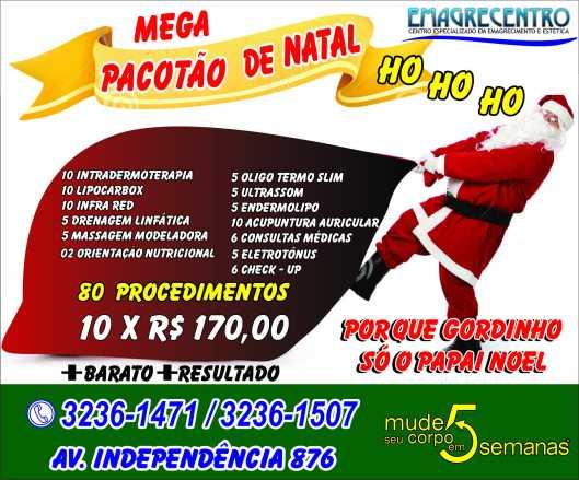 Emagrecentro Banner Natal